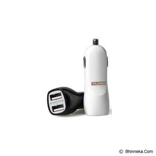 PUWEI Dual-Port Rapid USB Car Charger [ZJ-C010] - Car Kit / Charger